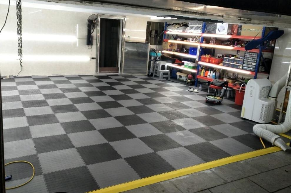 6.7mm di spessore modulare ad incastro garage palestra e di utilità