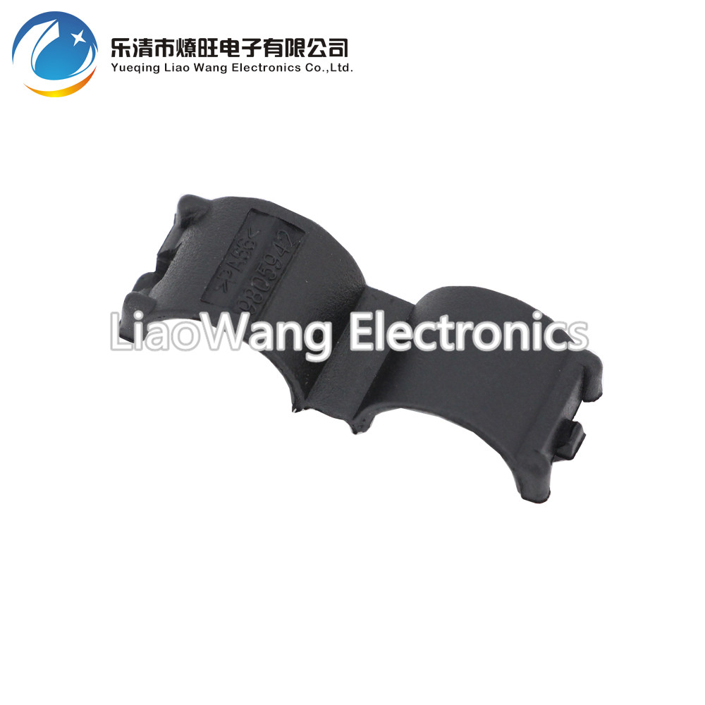 medium resolution of 10pcs lot ad13 corrugated pipe card buckle open tube harness casing tube head buckle automotive wiring harness bellows in cable sleeves from home