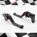 For HONDA HORNET CB919HORENT CBF 600 N / S Motorcycle Accessories CNC billet aluminum short brake clutch lever black