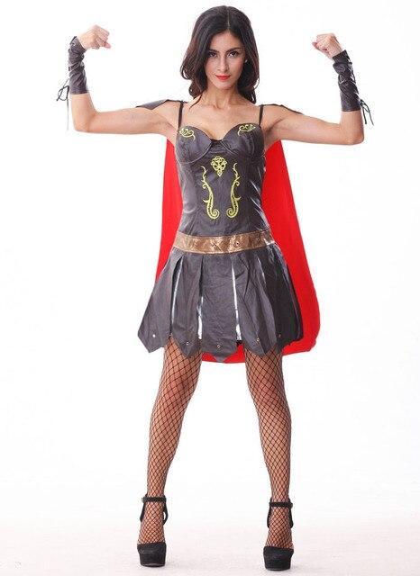 Viking Halloween Costume | Women S Rome Gladiator Role Play Spartan Viking Warrior Cosplay