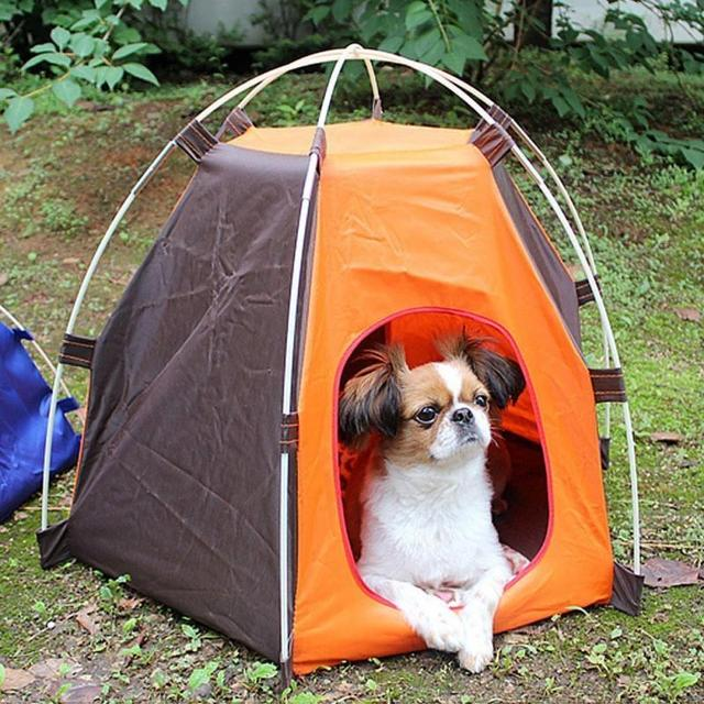 Hot Portable Folding Dog Pet House Bed Tent Waterproof Cat Indoor Outdoor Teepee & Hot Portable Folding Dog Pet House Bed Tent Waterproof Cat Indoor ...