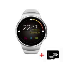 Heißer verkauf! Smart Watch KW18 Herzfrequenz Kompatibel Für Apple IOS/Android Digital-uhr Bluetooth Reloj MINI SIM Smartwatch Wearab