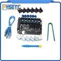FYSETC F6 V1.3 Bord ALLE-in-one-Elektronik Lösung Mainboard + 6 stücke TMC2208 V1.2 + 6 stücke protector Für UART VS TMC2130