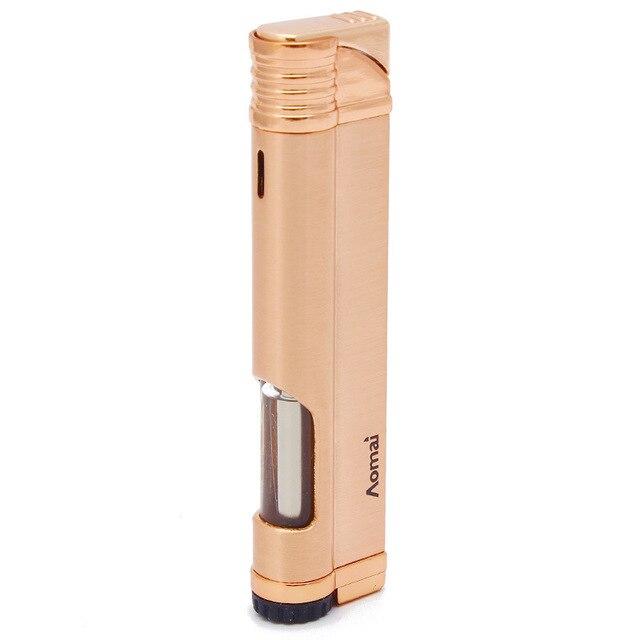 רצועת Jet בוטאן סיגר מצית לפיד טורבו צינור מצית סיגריות 1300 C אש Windproof אין גז