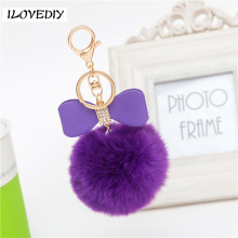 Fur Ball Women Keyring