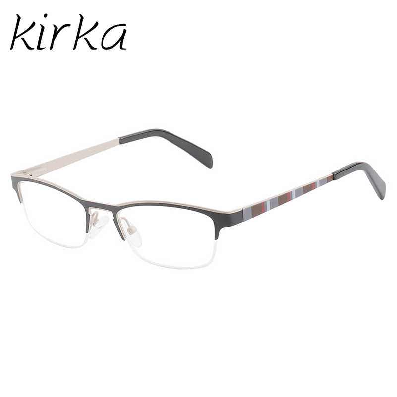 71dd532bb230 Kirka Best Quality Metal Children Eyewear Frames Transparent Optical Myopia  Designer Brand Clear Spectacle Frame For