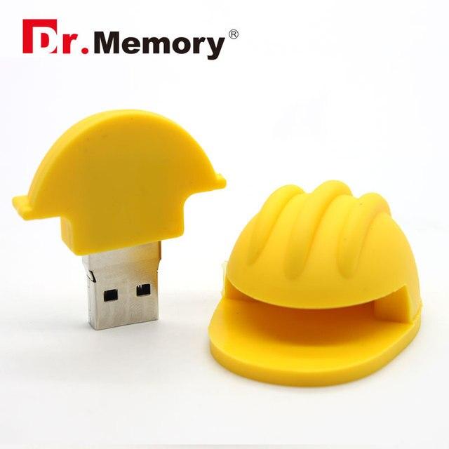 usb flash drive saftey helmet 32gb memoria stick helmet pendrive
