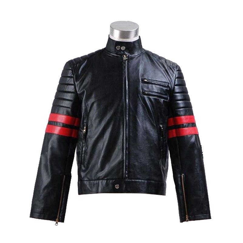 in cuoio/ /nero Sconosciuto German Wear abito da moto
