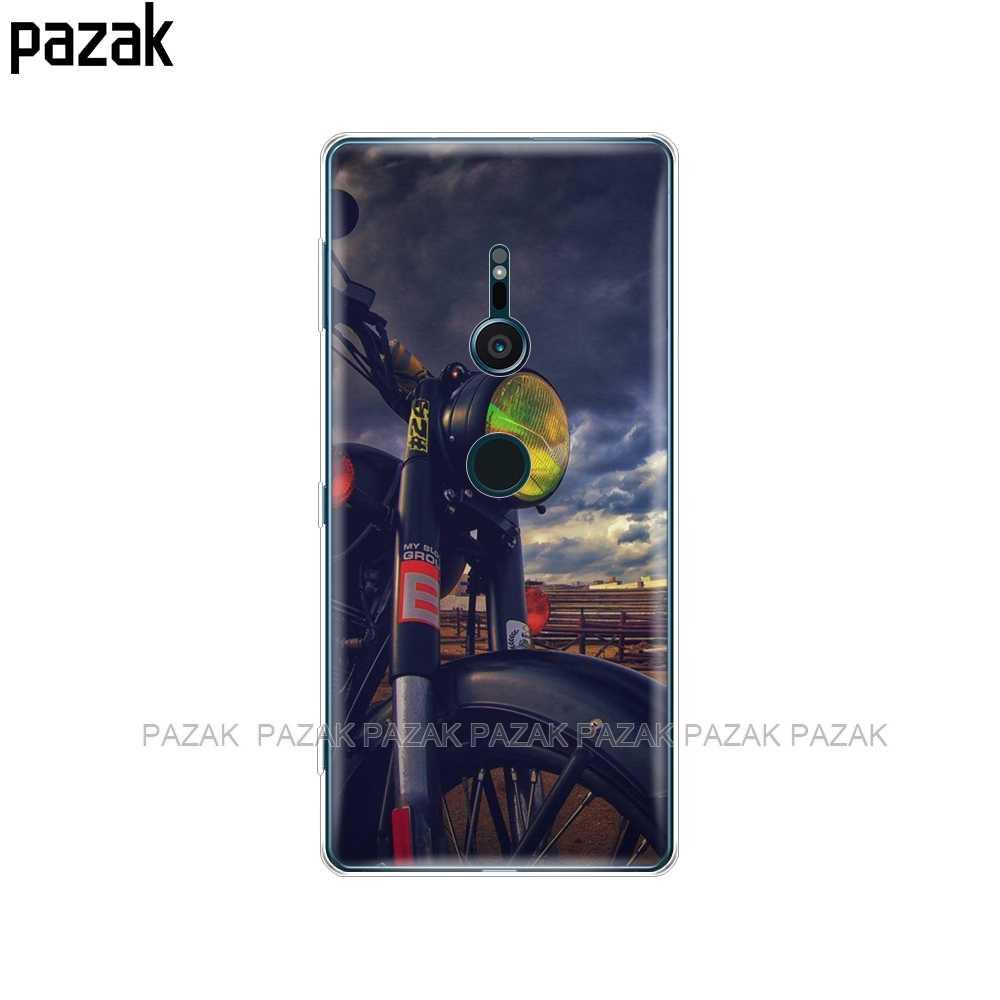 Miękkie etui silikonowe do Sony Xperia XZ2 etui do Sony XZ2 kompaktowe etui na Sony XZ1/XZ1 Compact/XZ Premium Coque Fundas