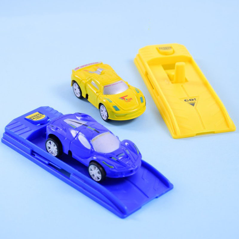 1 Pcs Creative Plastic Cars Models Toys Catapult Car Desk Racing Toys Game Kids Toys