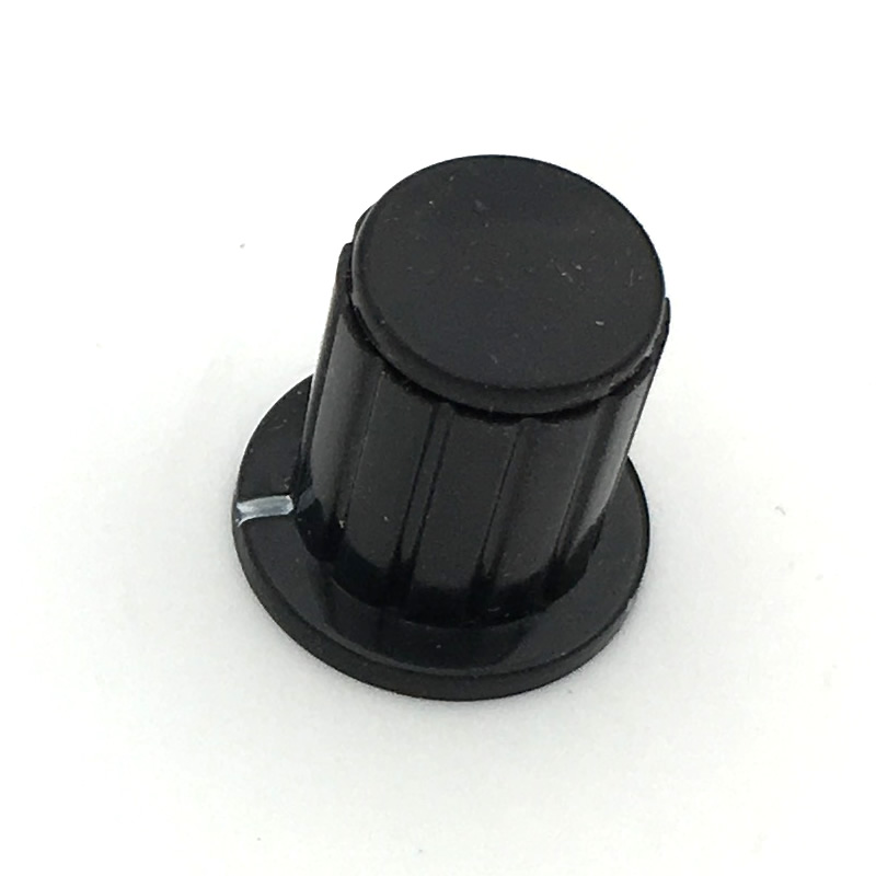 black knob button cap is suitable for high quality WXD3-13-2W - turn around special potentiometer knob