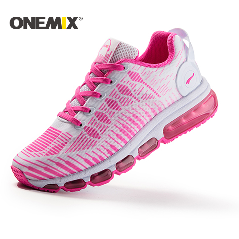 ONEMIX brand running shoes for women sneakers  mesh vamp outdoor sports shoes zapatillas running hombre athletic shoes women 2017brand sport mesh men running shoes athletic sneakers air breath increased within zapatillas deportivas trainers couple shoes