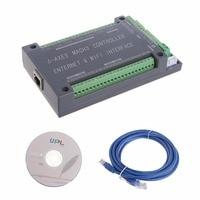 For NVUM 6 Axis CNC Controller MACH3 Ethernet Interface Board Card 200KHz For Stepper Motor B116