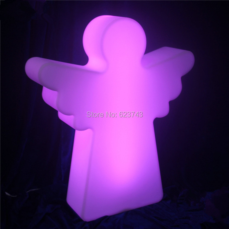 Multi Color Rechargeable Battery Plastic LED Christmas Angel Floor Lamp Remote Control Christmas Outdoor Decorative Mood LampMulti Color Rechargeable Battery Plastic LED Christmas Angel Floor Lamp Remote Control Christmas Outdoor Decorative Mood Lamp
