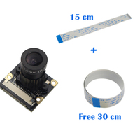 5 Megapixel Raspberry Pi Night Vision Camera Adjustable Focus OV5647 Sensor Raspberry Pi 3 Camera Free