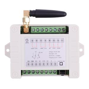 Image 2 - 12V 24V 36 10A Motor Remote Control Switch Motor Forwards Reverse Up Down Stop Door Window Curtain Wireless TX RX Limited Switch