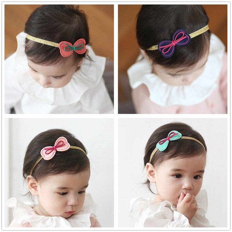 Mariposa niñas turbante vendas elásticos accesorios para el cabello ...