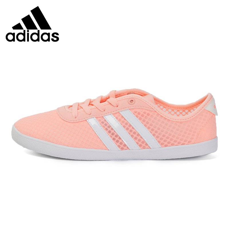 new concept 66873 0d91b ... Original New Arrival 2017 Adidas NEO Label CF QT VULC SEA W Womens  Skateboarding Shoes Sneakers ...