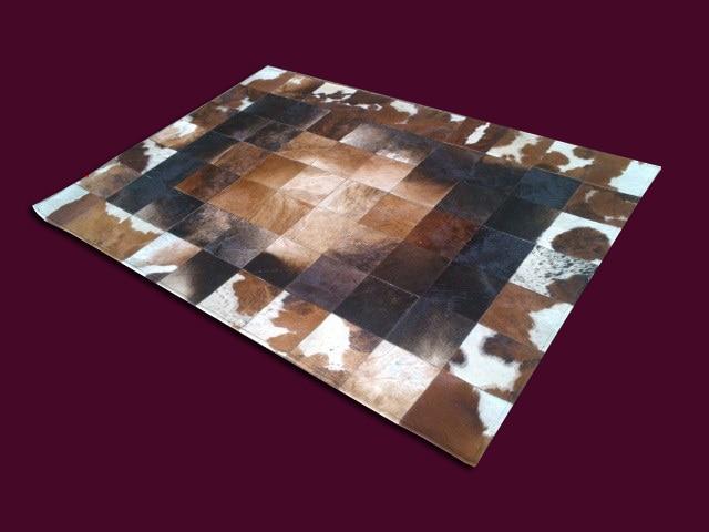 Fashionable art carpet 100% natural genuine cowhide leather carpet gripperFashionable art carpet 100% natural genuine cowhide leather carpet gripper