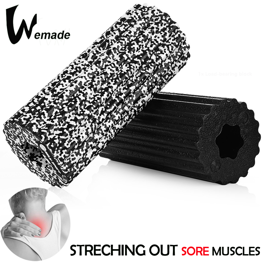 Foam Roller Fitness Massage Roller 32x14cm Yoga Roller Pilates Yoga Block