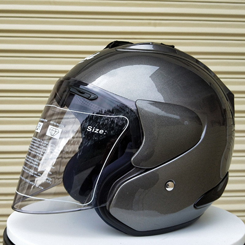 Amicable Arai R4 Motorcycle Helmet 3/4 Open Face Vintage Casco Moto Jet Scooter Bike Helmet Retro Ece Approved Casque Motociclismo Good For Antipyretic And Throat Soother
