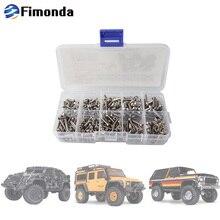 Fimonda דגם רכב ברגים ערכת w/גוף מעטפת קליפ פין משושה Socket ראש כובע בורג סט מלא עבור Traxxas TRX 4 82056 4 1:10 RC רכב