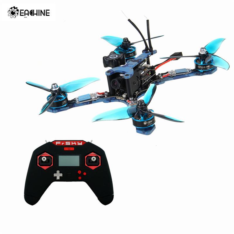Eachine Wizard TS215 FPV Racing RC Drone F4 5.8G 72CH RunCam Swift 2 Frsky Taranis X-Lite XM+ RTF eachine wizard ts215 fpv racing rc drone f4 5 8g 72ch 40a blheli 32 720p dvr runcam swift 2 bnf pnp vs diatone 2018