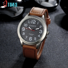 Glorious High quality Style Model Leather-based Strap Watches Males Quartz Ladies Gown Watch Sports activities Navy Relojes Wristwatch Jan-12