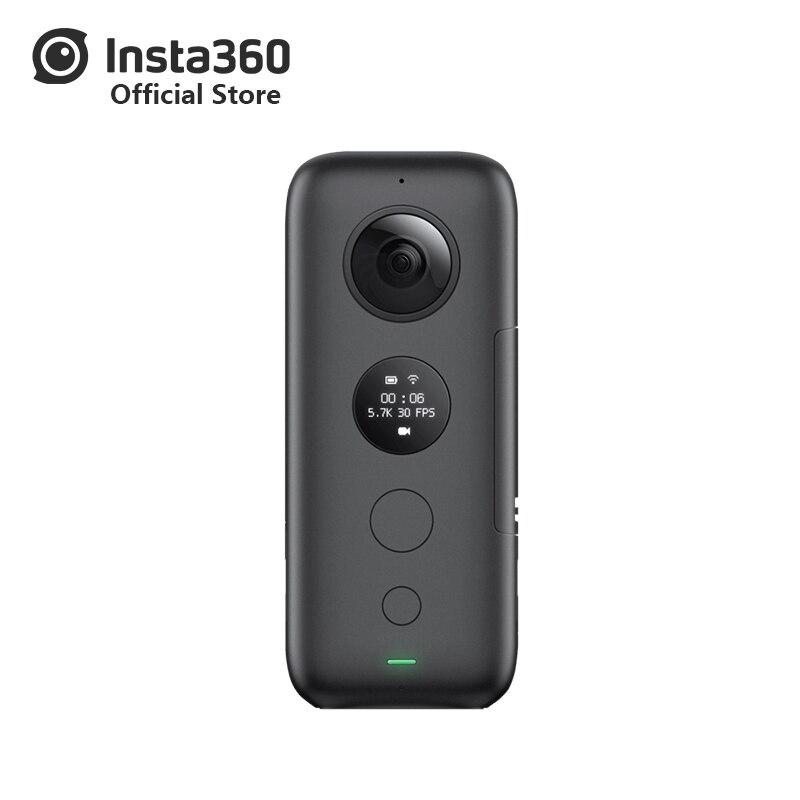 Insta360 ONE X caméra de sport VR Insta 360 caméra panoramique pour iPhone et Android 5.7K vidéo 18MP Photo bâton de Selfie Invisible