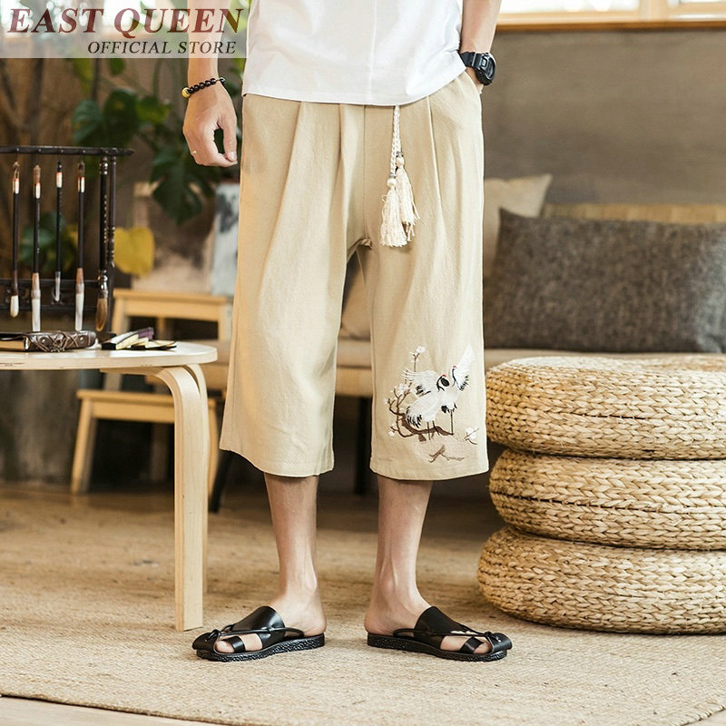 Traditional & Cultural Wear Cargo Pants Men Pants With High Waist Trousers Cargo Pants Style Casual Loose Wide Leg New Hot Sale 2018 Cargo Trousers Ff368 A Bottoms