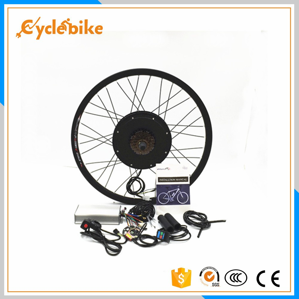 Rear Wheel 48V 1000W Electric Battery Powered Bicycle Motor Conversion Kit 36v250w 26 front rear wheel electric bicycle small motor cycling conversion kit