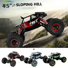 RC Car 4WD 2.4GHz Climbing Car 4x4 Bigfoot Car Remote Control Model Off-Road Vehicle Outdoor Toys For Boy Kids Gift r c car 2 4g 4ch 4wd 4x4 driving car monster truck off road vehicle remote control car model toys gift for children e