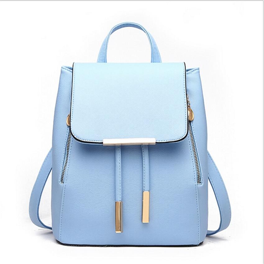 buy royadong backpack women school bags teenage girls pu