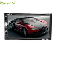New Arrival Car DVD CD Player 7inch 2 DIN Bluetooth Touch Screen Radio Audio USB iPod SD FM/AM jr9