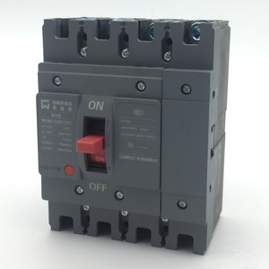 Compact mould case circuit breaker high breaking capacity 125A WGM3-125 MCCB 4Pole high quality beautiful appearance