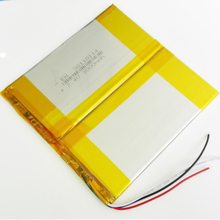 7.4V 3000mAh Lithium Polymer Li-Po Rechargeable Battery For PAD E-Book GPS PSP DVD Power bank Tablet PC nootbook laptop 38110114