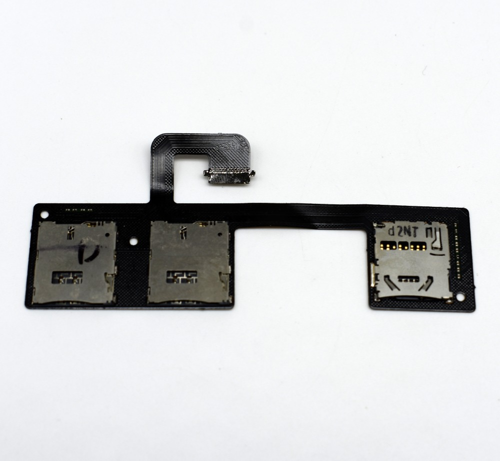 5pcs/lot New Sim Card Reader Flex Cable For HTC One M7