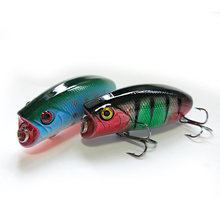 SEALURER Fishing Lure 5 5cm 10g Hard Plastic Popper Wobblers Lure Artificial Fishing Top water Floating