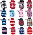 XS-XXL caliente barato nuevo suéter para perro suéter para mascotas varios colores abrigo tejido para perros pequeños venta al por mayor al por menor envío gratuito
