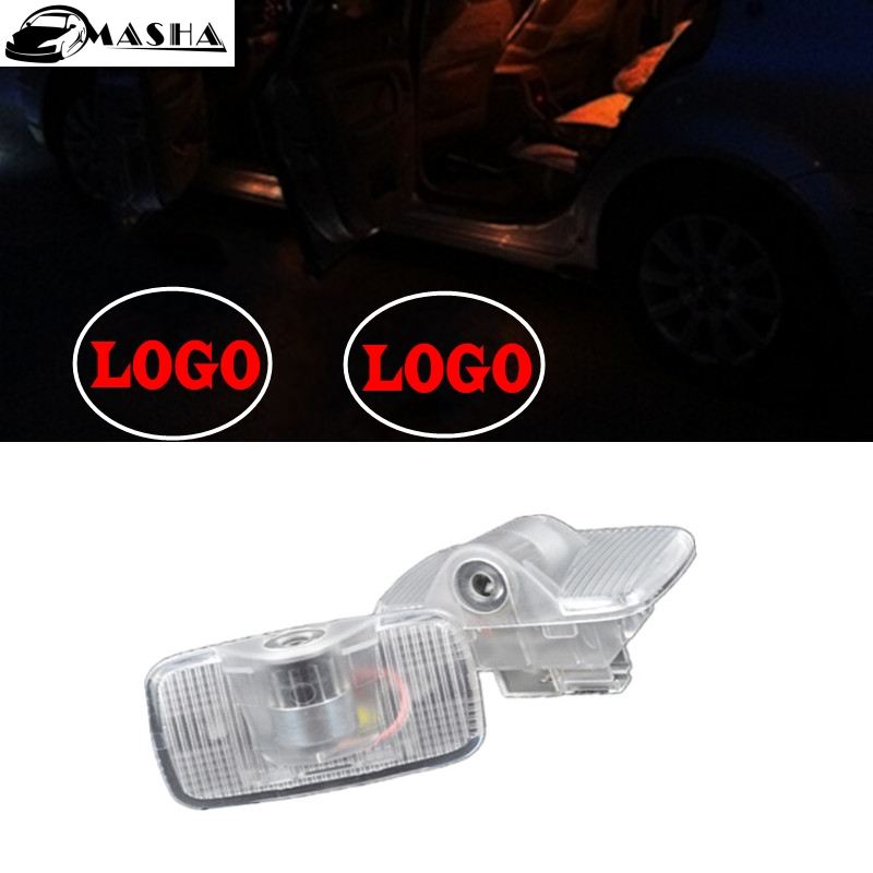 LED Laser Ghost Shadow Projector Car Courtesy Logo Light For NISSAN Murano 12-13 SYLPHY 06-12 Old Teana 04-07 X-Trail car genuine leather steering wheel cover for bluebird sunny pathfinder pickup teana tiida sylphy geniss cefiro x trail cc nissan