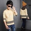 Fashion Boys Sweater 2016 Winter Autumn Infant Girls Outwear Sweater Cotton Kids Sweater Children Outerwear Knitwear Sweater Bra
