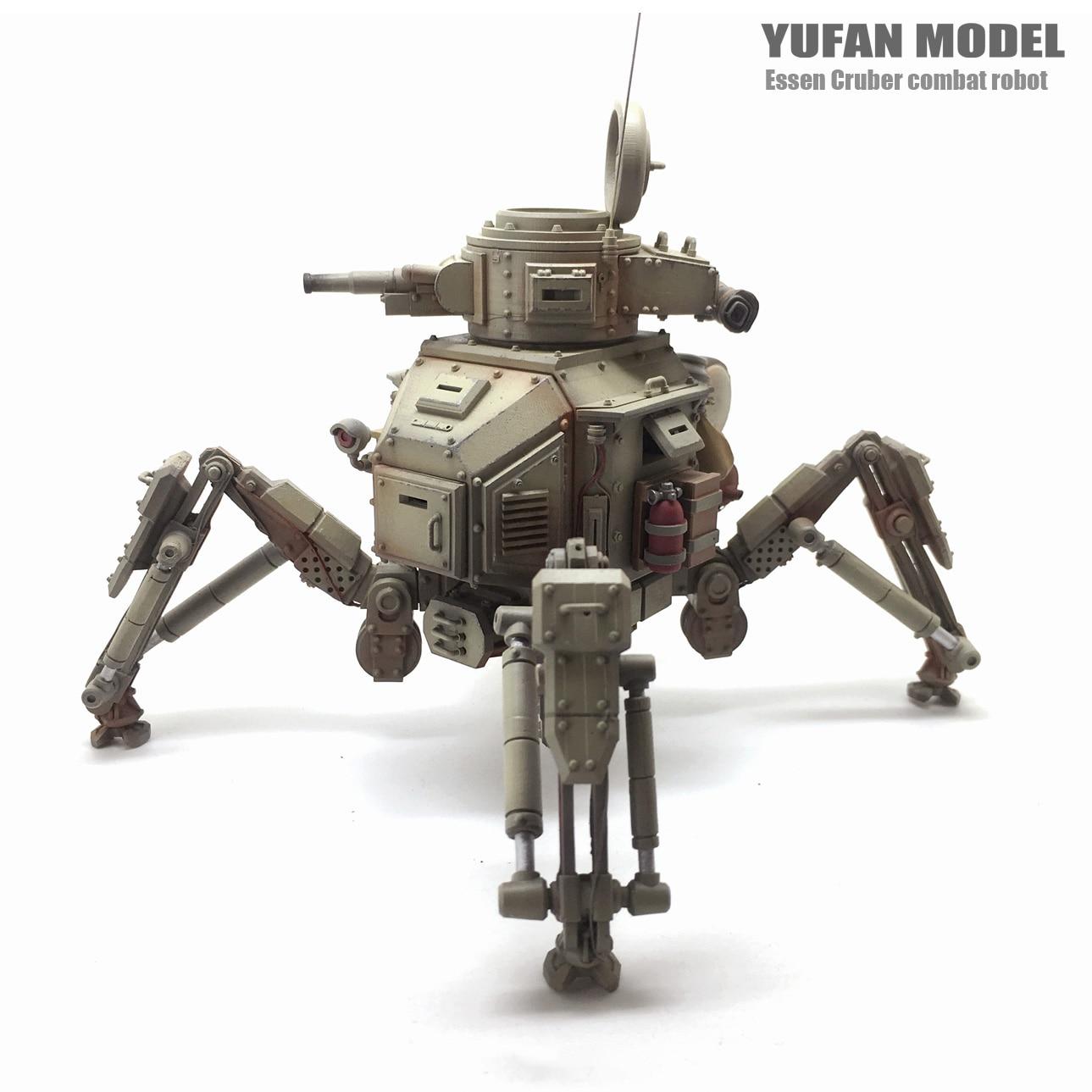 1/35 máquina tanque cielo Robot resina figura soldado modelo YFWW 1835-in Kits de construcción de maquetas from Juguetes y pasatiempos    2