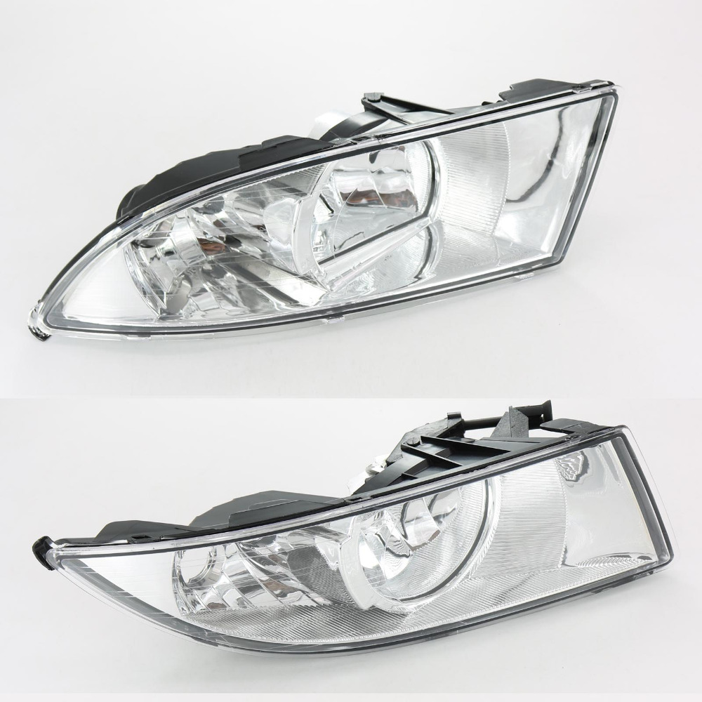 2Pcs Car Light For Skoda Fabia 2 MK2 Facelift 2011 2012 2013 2014 2015 Front Halogen Fog Light Fog Light 1 pair front halogen fog lights lamps turn signal light front bumper fog light for hyundai sonata 2011 2012 2013