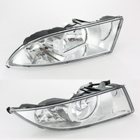 2Pcs Car Light For Skoda Fabia 2 MK2 Facelift 2011 2012 2013 2014 2015 Front Halogen Fog Light Fog Light