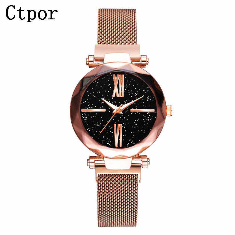 Japan Quartz Movement High Quality 36mm Women Stainless Steel Magnet Mesh Rose Gold Waterproof Ladies Watch DropshippingJapan Quartz Movement High Quality 36mm Women Stainless Steel Magnet Mesh Rose Gold Waterproof Ladies Watch Dropshipping
