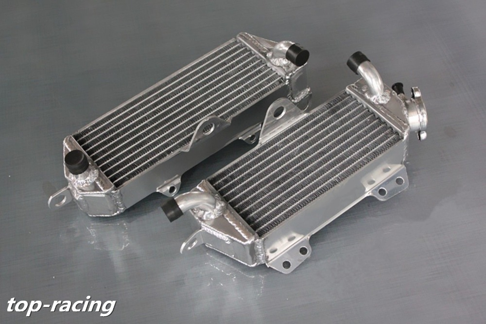 high performance 40mm L&R aluminum alloy radiator for Kawasaki KX250  KX 250 2-stroke 1987 1988 1989