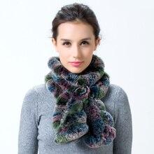 Rex rabbit hair scarf fur scarf muffler scarf winter knitted quinquagenarian female 2015 autumn and winter