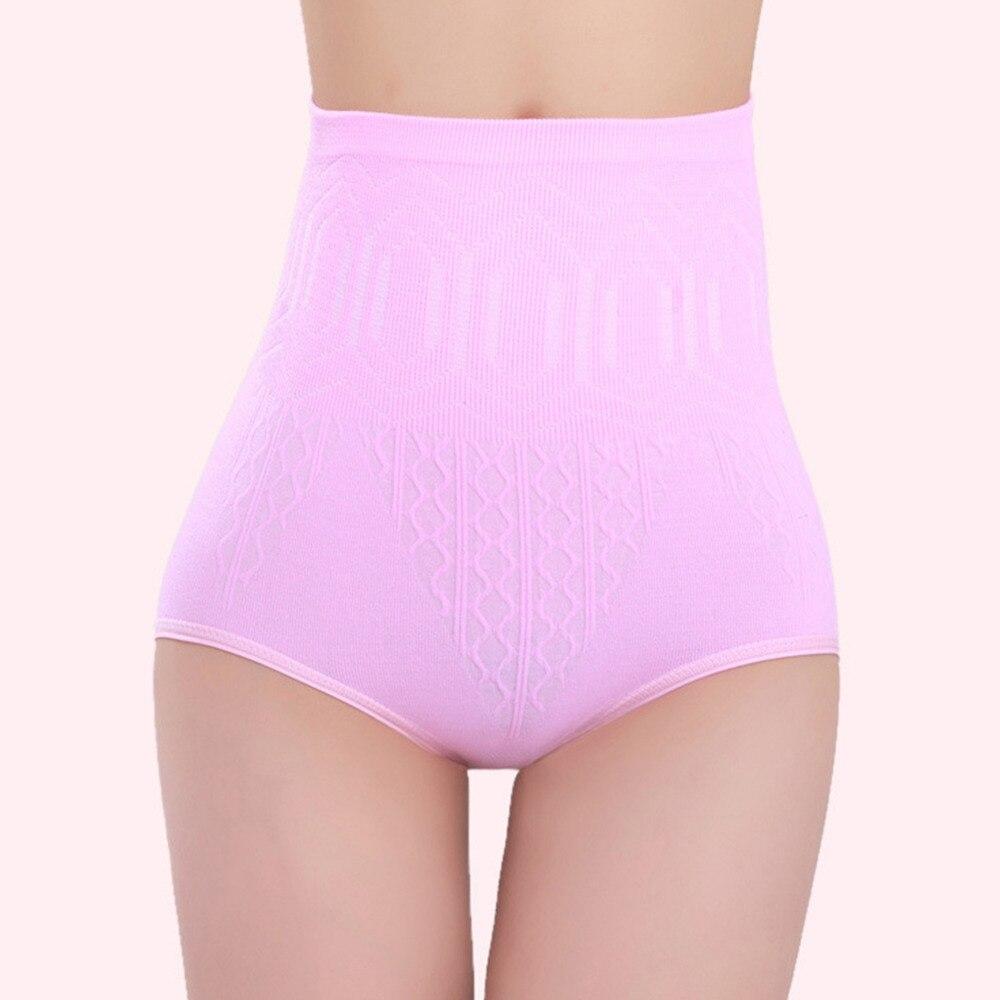 Yüksek Bel Göbek Pantolon Şort Doğum Günü İç Giyim Külot - Hamilelik ve Annelik - Fotoğraf 6