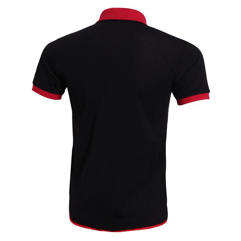 Cool Polo Shirt Men Polo Homme Brand Design Double Collar Solid