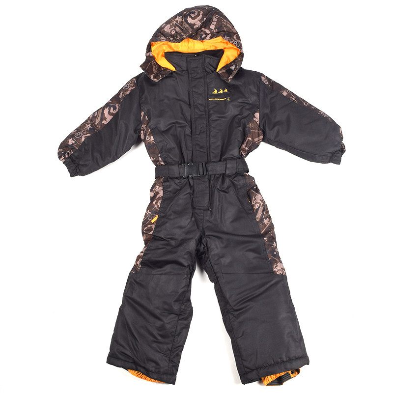 a6699a0e5 2018 Winter New Outdoor Children Clothing Hooded Warm Romper For ...